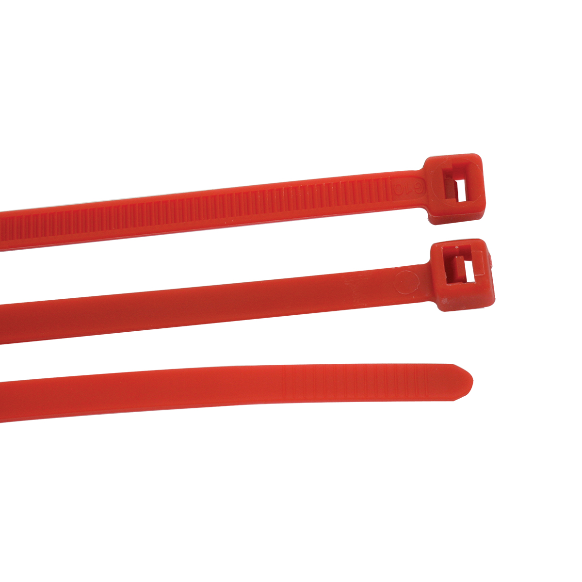 "63034 Red 15"" (L) Nylon Cable Zip Tie"