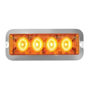 Medium Rectangular 4 LED Strobe Light