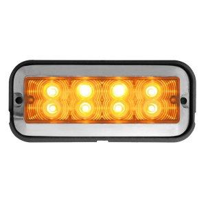 Medium Rectangular 8 LED Strobe Light