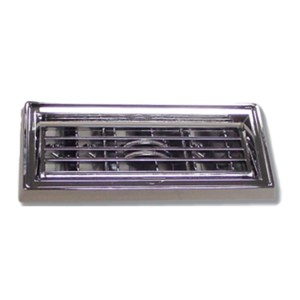 Chrome Plastic Large A/C Vent Adjustable Louver for Peterbilt