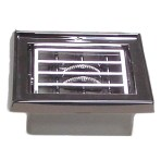 Chrome Plastic Small A/C Vent Adjustable Louver for Peterbilt