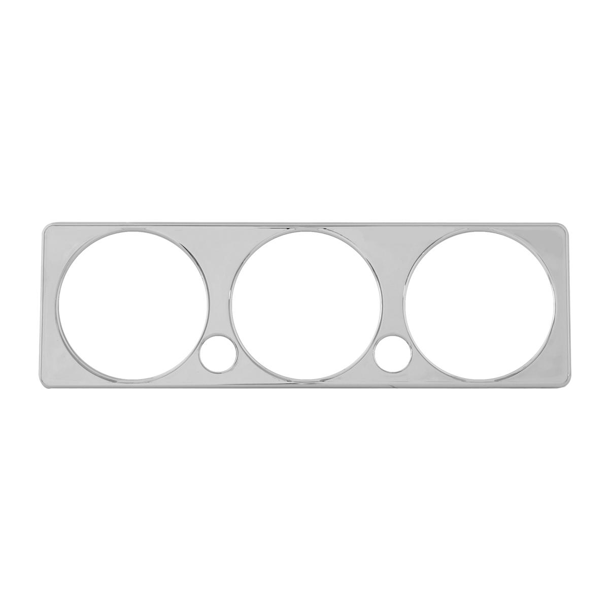 68347 Chrome Plastic A/C Control Plate Cover for Peterbilt 2005+