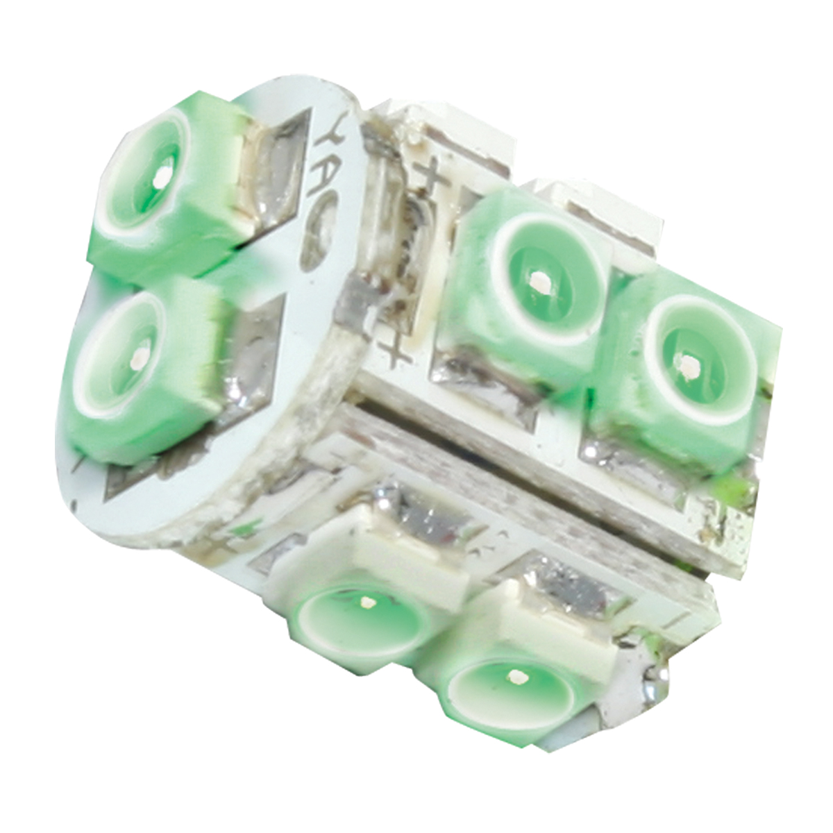 74922 Green 194/168 Tower Style 10 LED Light Bulb