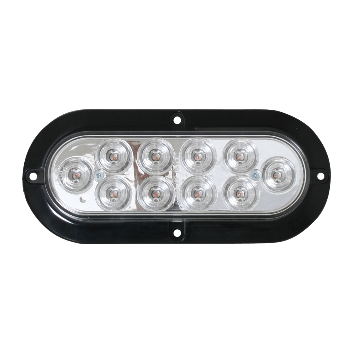 76873 Surface Mount Oval Mega 10 Plus LED Light