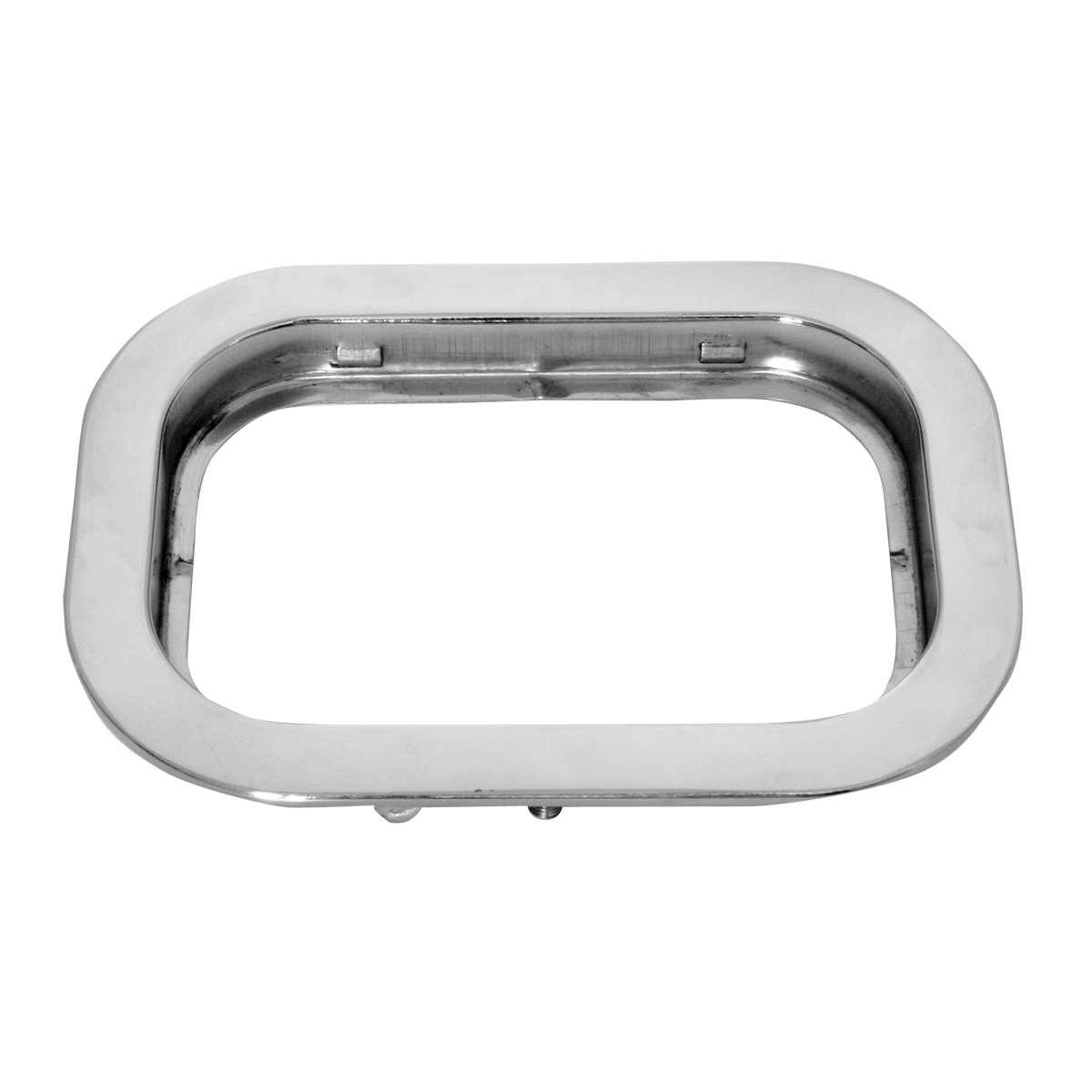 "77019 Stainless Steel Flange Mount Bezel with Hidden Studs for 5.25"" Large Rectangular Light"