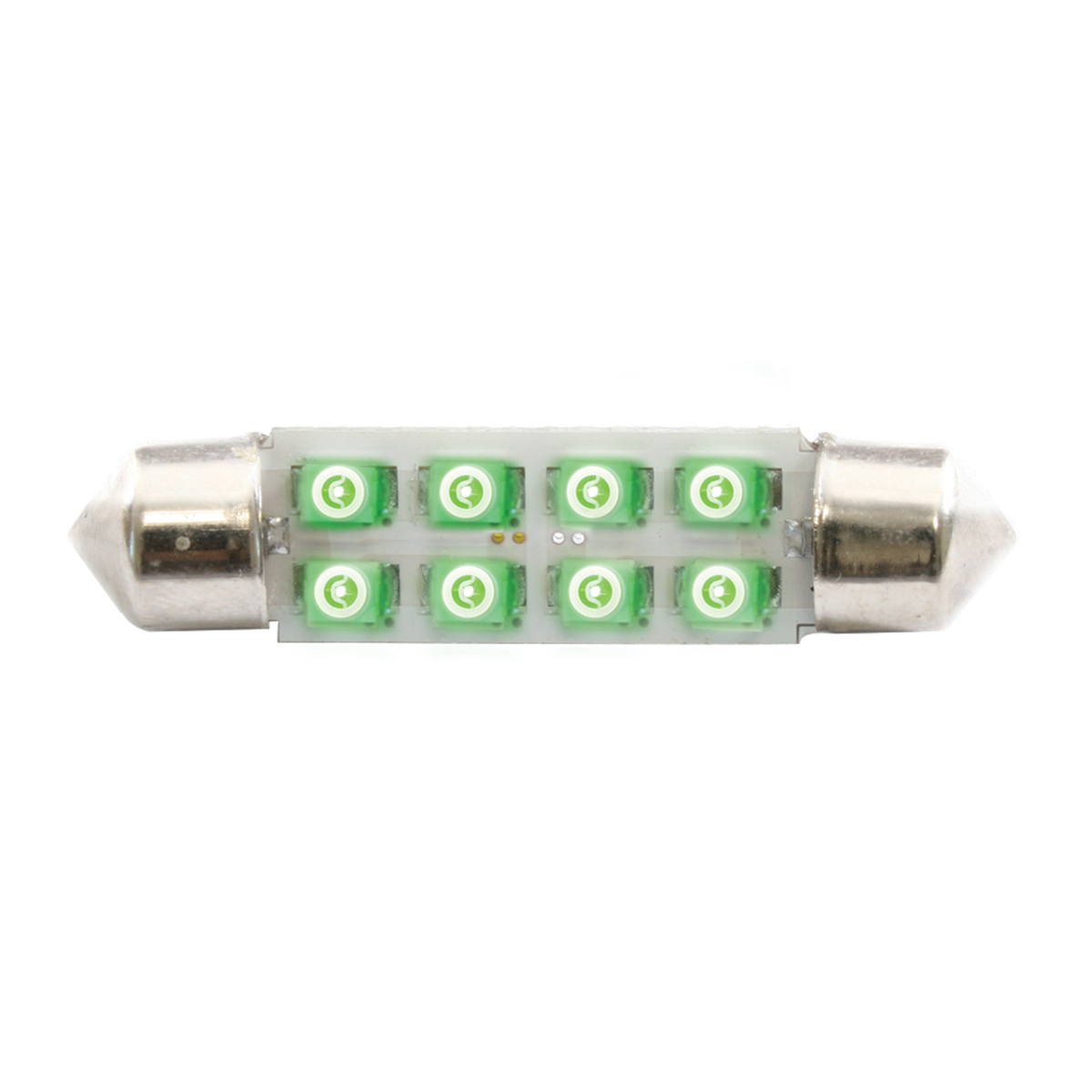 77152 Green 211-2 Dome Type 8 LED Light Bulb