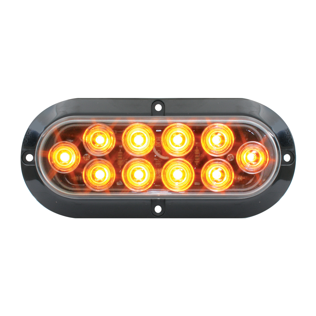 77431 Surface Mount Oval Mega 10 LED Light
