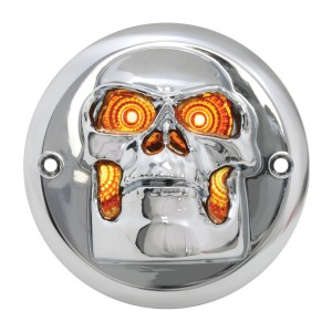 Skull Bezel for 2″ Round Light