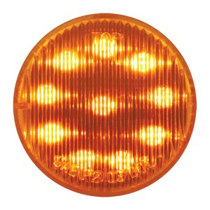 2″ Round Fleet LED Marker Light