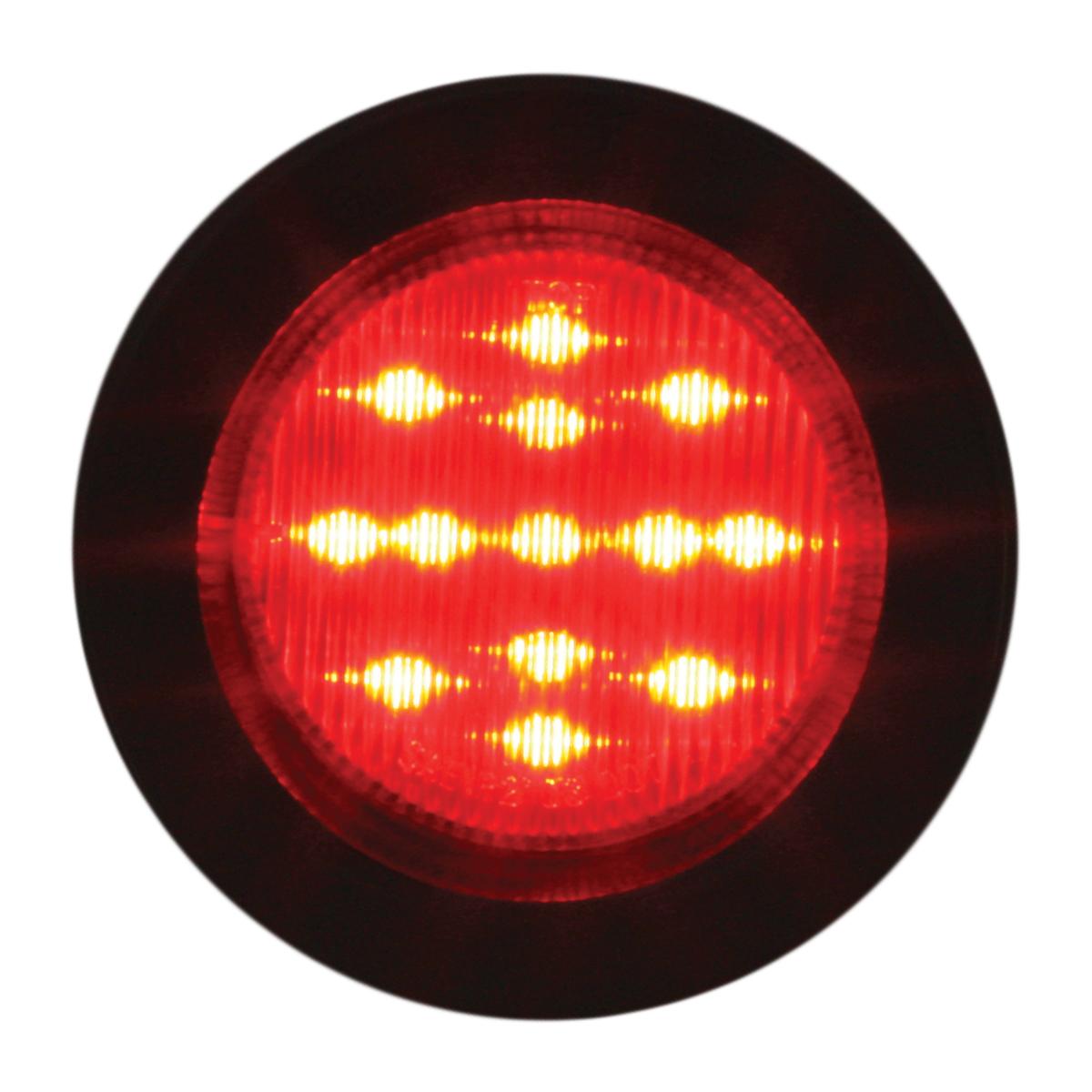 "79314 2-1/2"" Round Fleet Marker Light w/ Grommet"