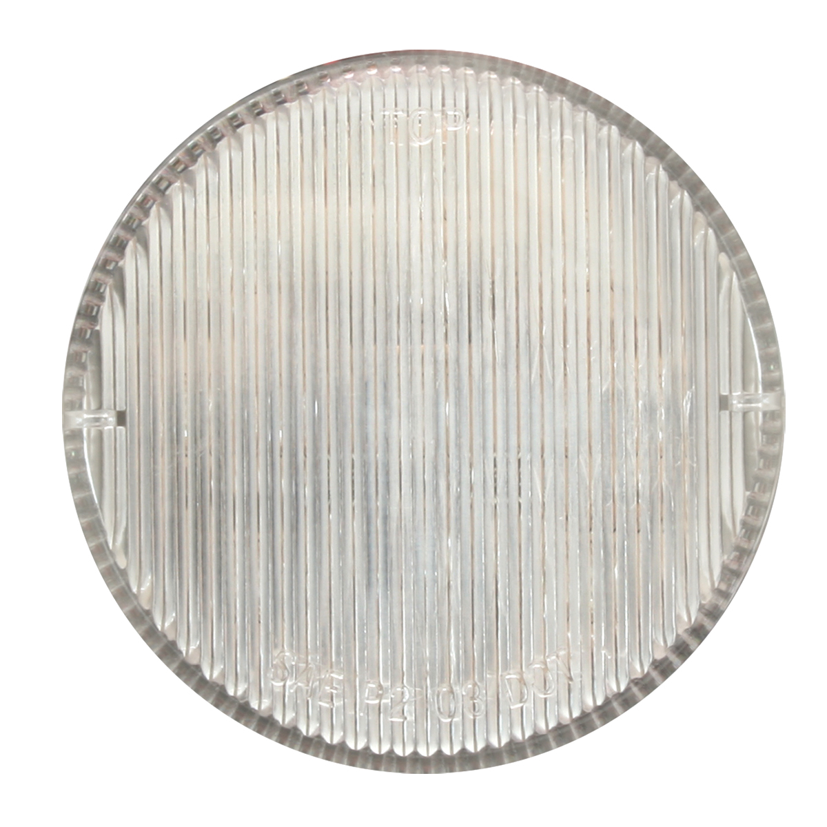 "2-1/2"" Round Fleet Marker Light in Clear Lens"