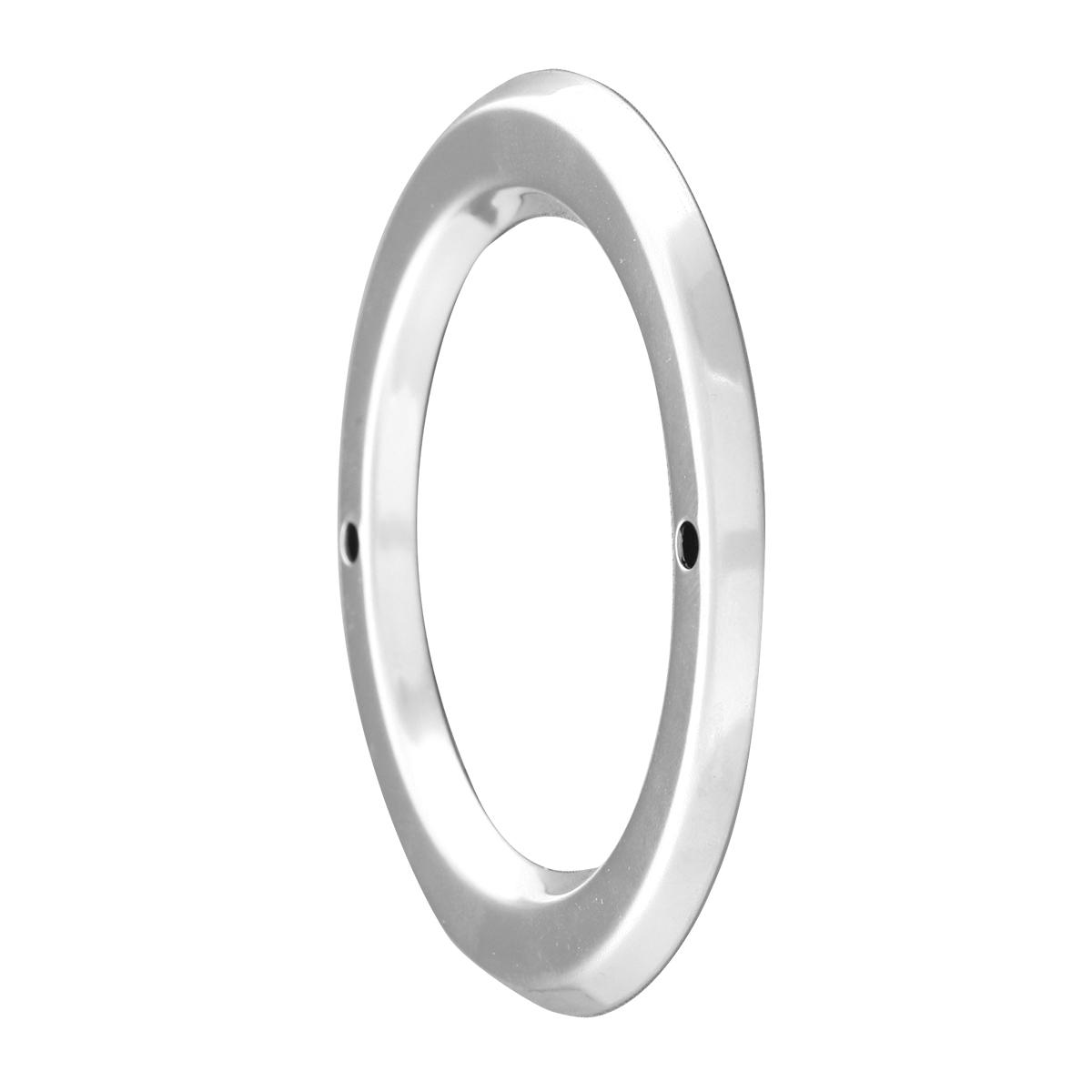 """80721 Stainless Steel Grommet Cover w/o Visor for 2"""" Round Light"""