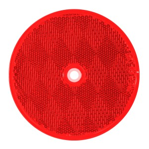 3-1/4″ Round Reflector w/ Center Mounting Hole