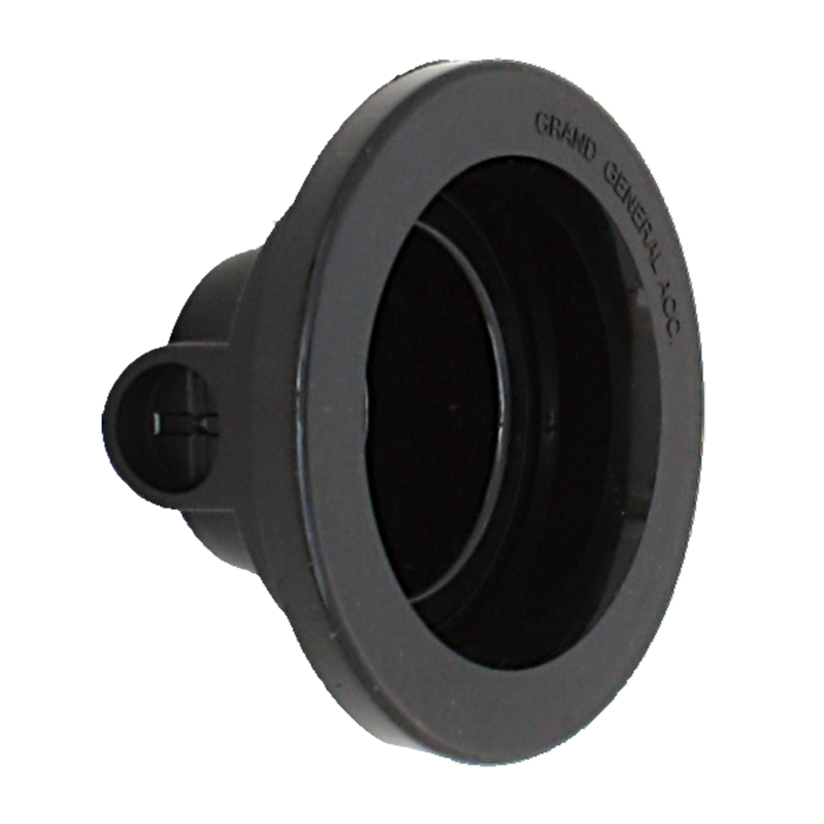 "81005 2-1/2"" Closed Back Rubberized Vinyl Grommet"