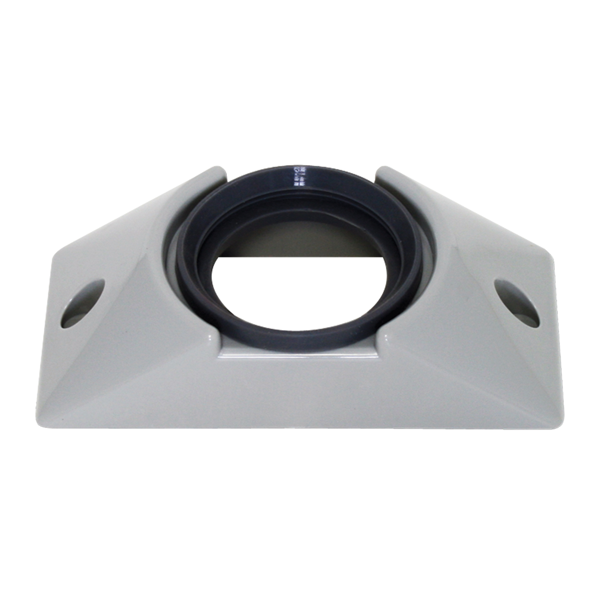 """82617 Gray Plastic Mounting Bracket with Grommet for 2"""" Round Light"""