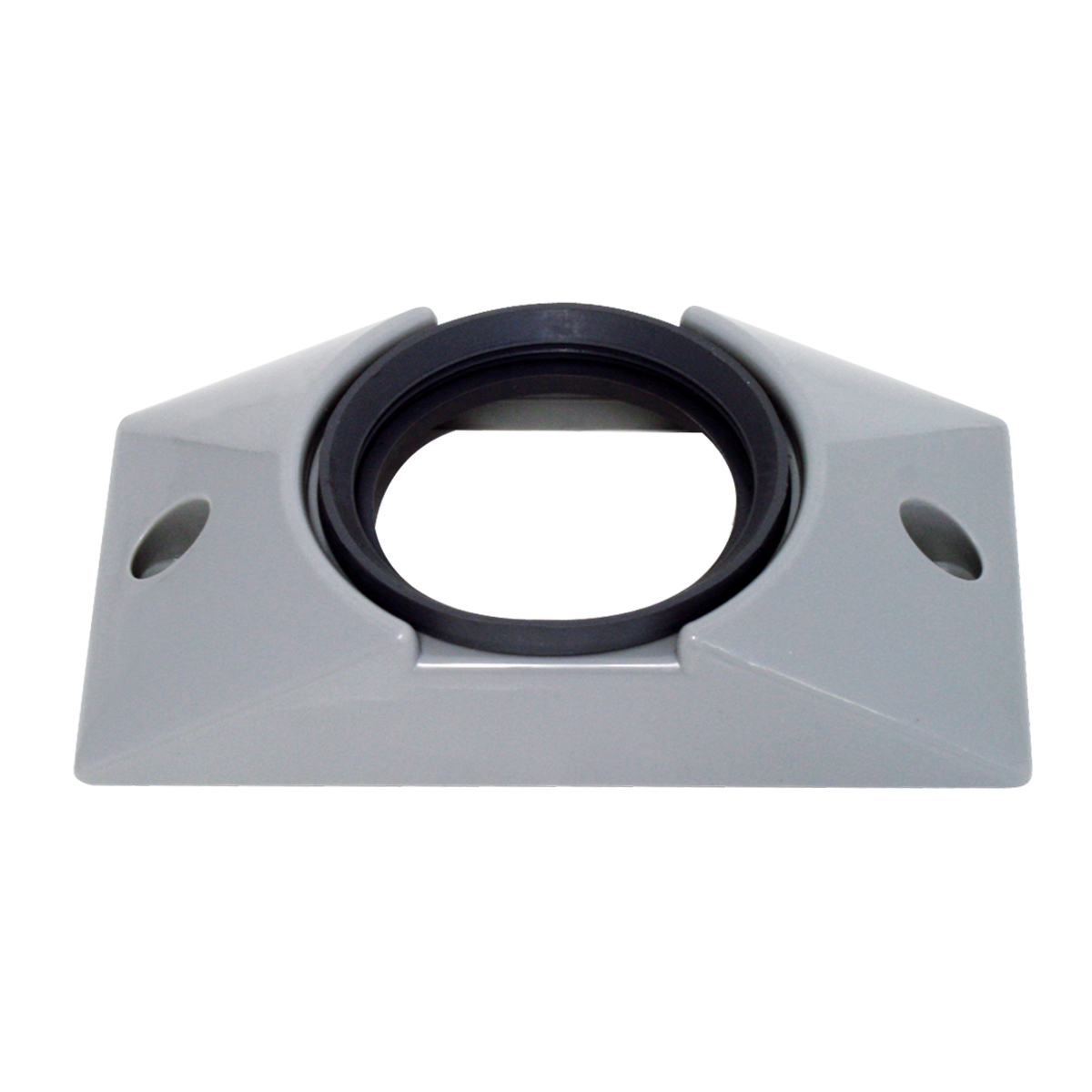 "82627 Gray Plastic Mounting Bracket with Grommet for 2-1/2"" Round Light"