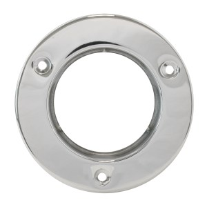 Stainless Steel Flange Mount Bezel for 2-1/2″ Round Light