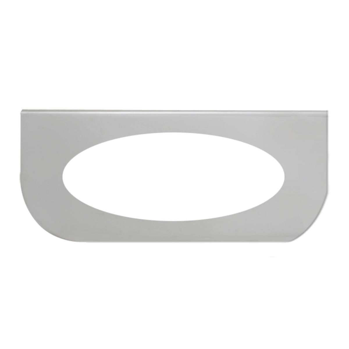 "#89029 Single Stainless Steel ""L"" Shape Light Bracket Only"