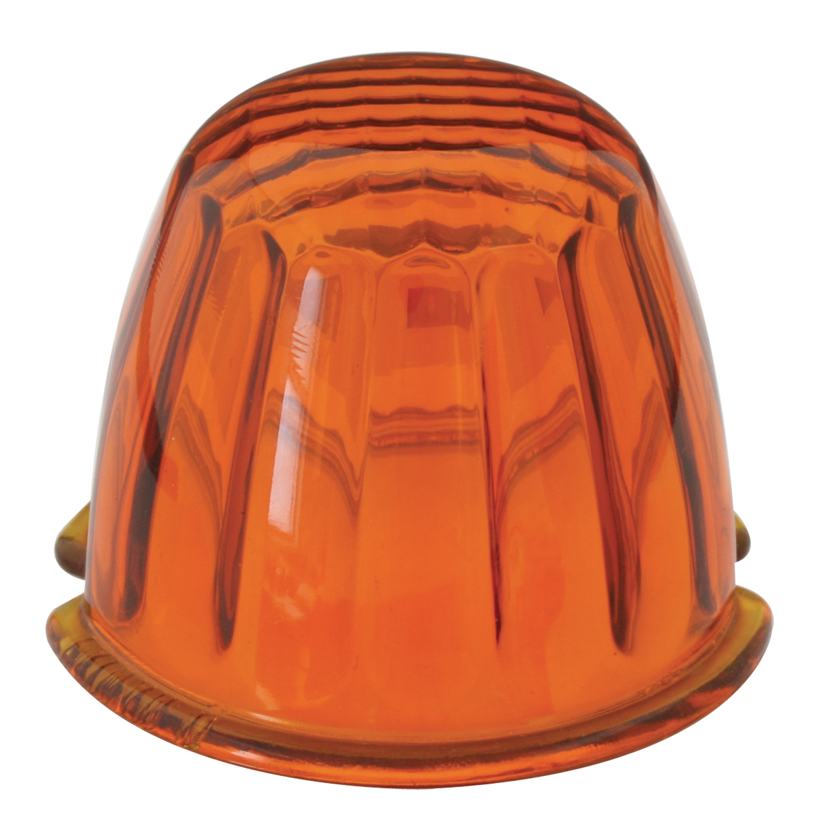 #92001 Reflector Dark Amber Glass Lens