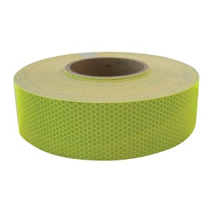DOT-C2 Conspicuity Tape in Fluorescent Green 150′ Roll
