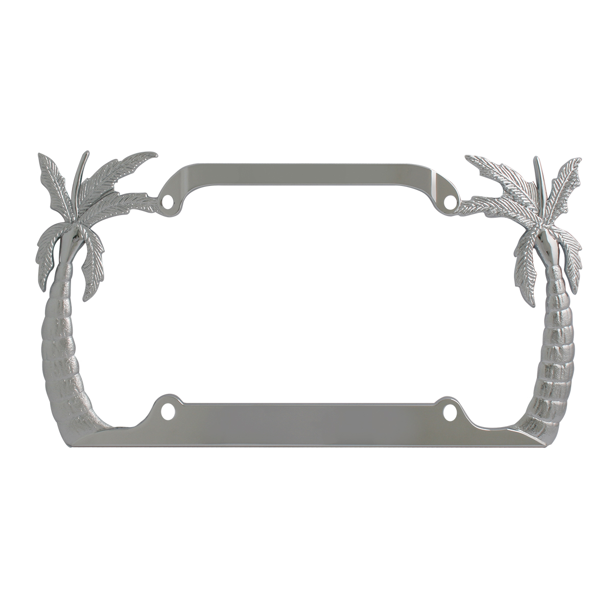 60250 Palm Tree License Plate Frame