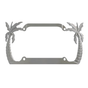 Palm Tree License Plate Frame