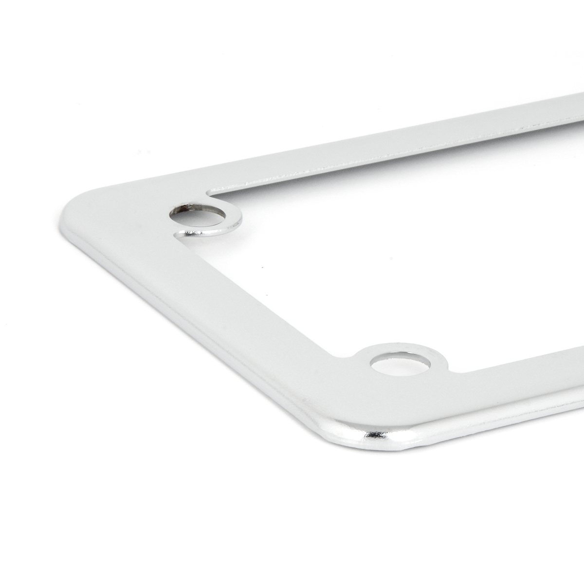 Lighted License Plate Frame Stainless Steel