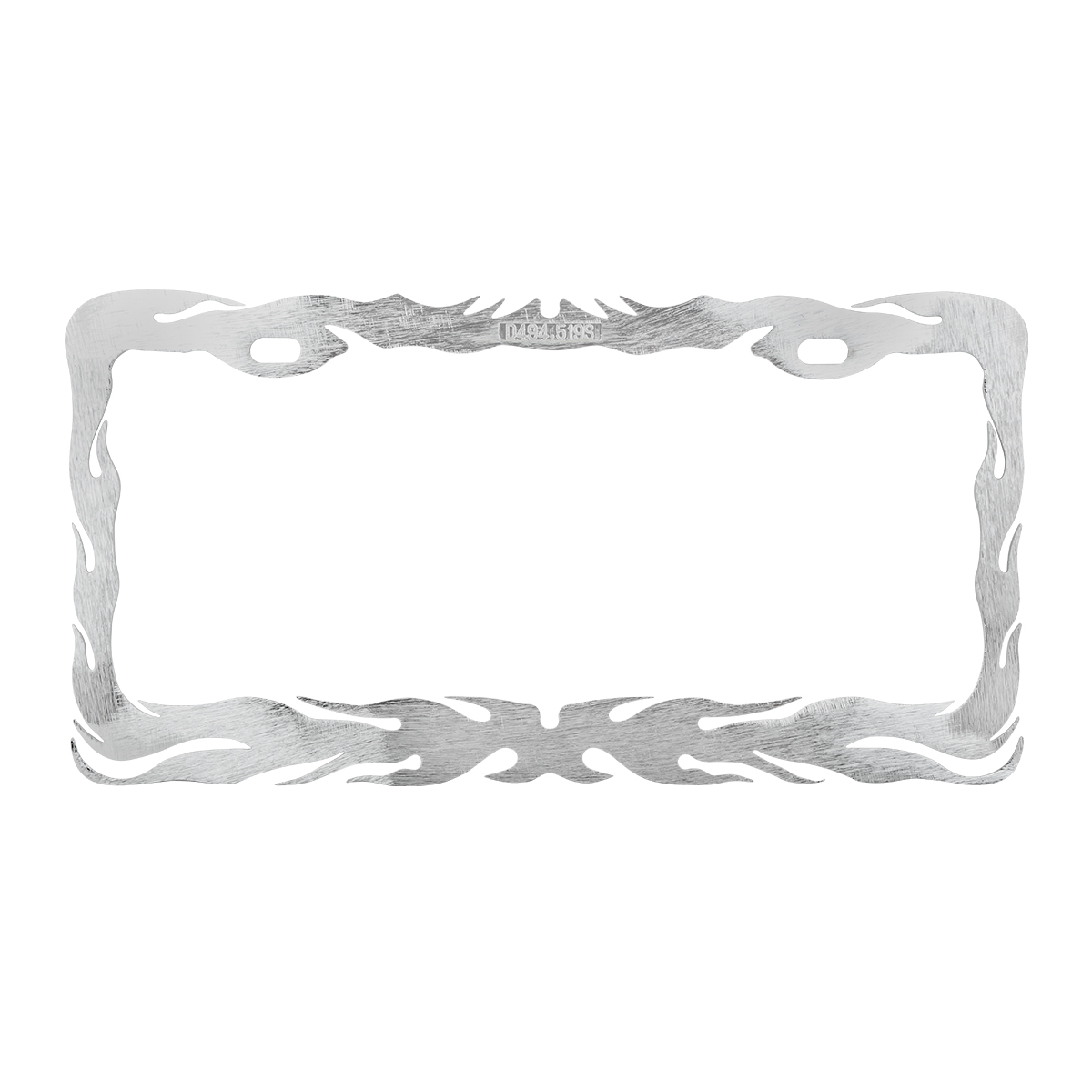 Flame License Plate Frame - Grand General - Auto Parts Accessories ...