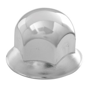 #70010 Standard Push-On Lug Nut Cover with Flange
