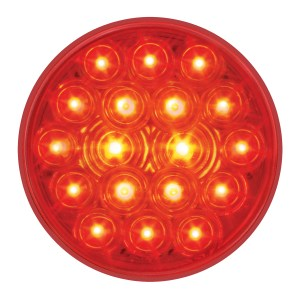 4″ Fleet LED Light with 3-Prong Round Plug