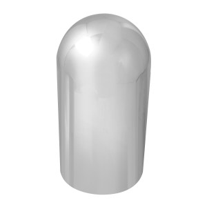 Full Moon Chrome Plastic Lug Nut Cover