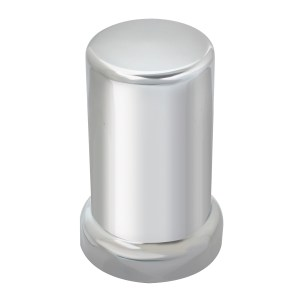 Tube Chrome Plastic Lug Nut Cover