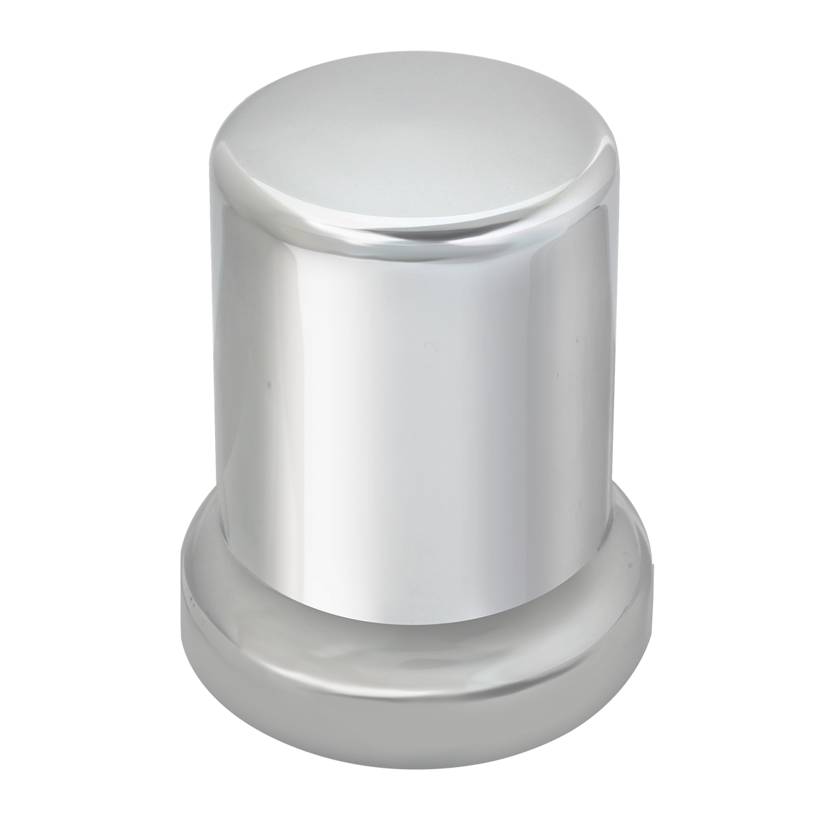 Tube Chrome Plastic Lug Nut Cover 2-1/2""