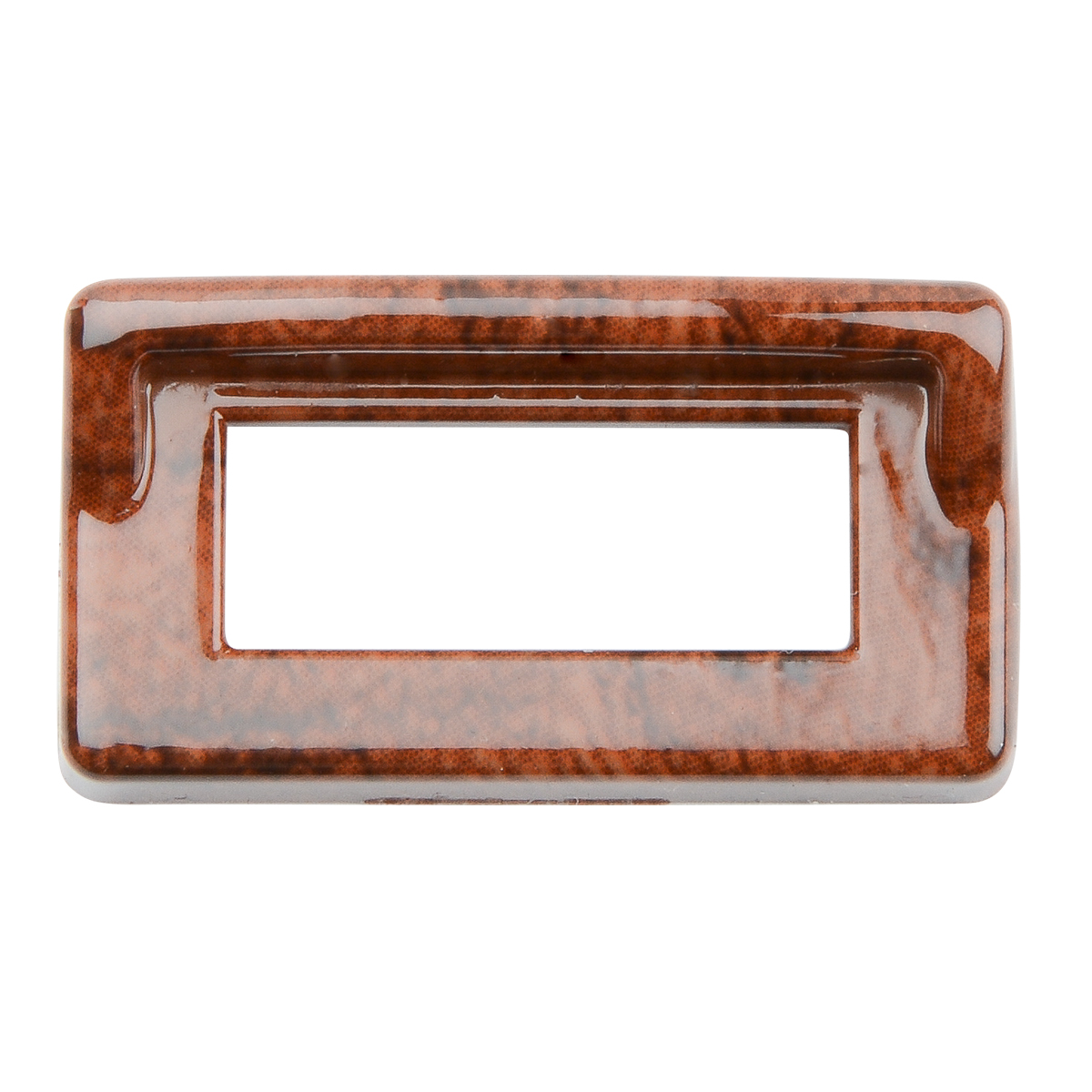 68247 Wood Pattern Switch Label Bezel Cover w/ Visor for Kenworth