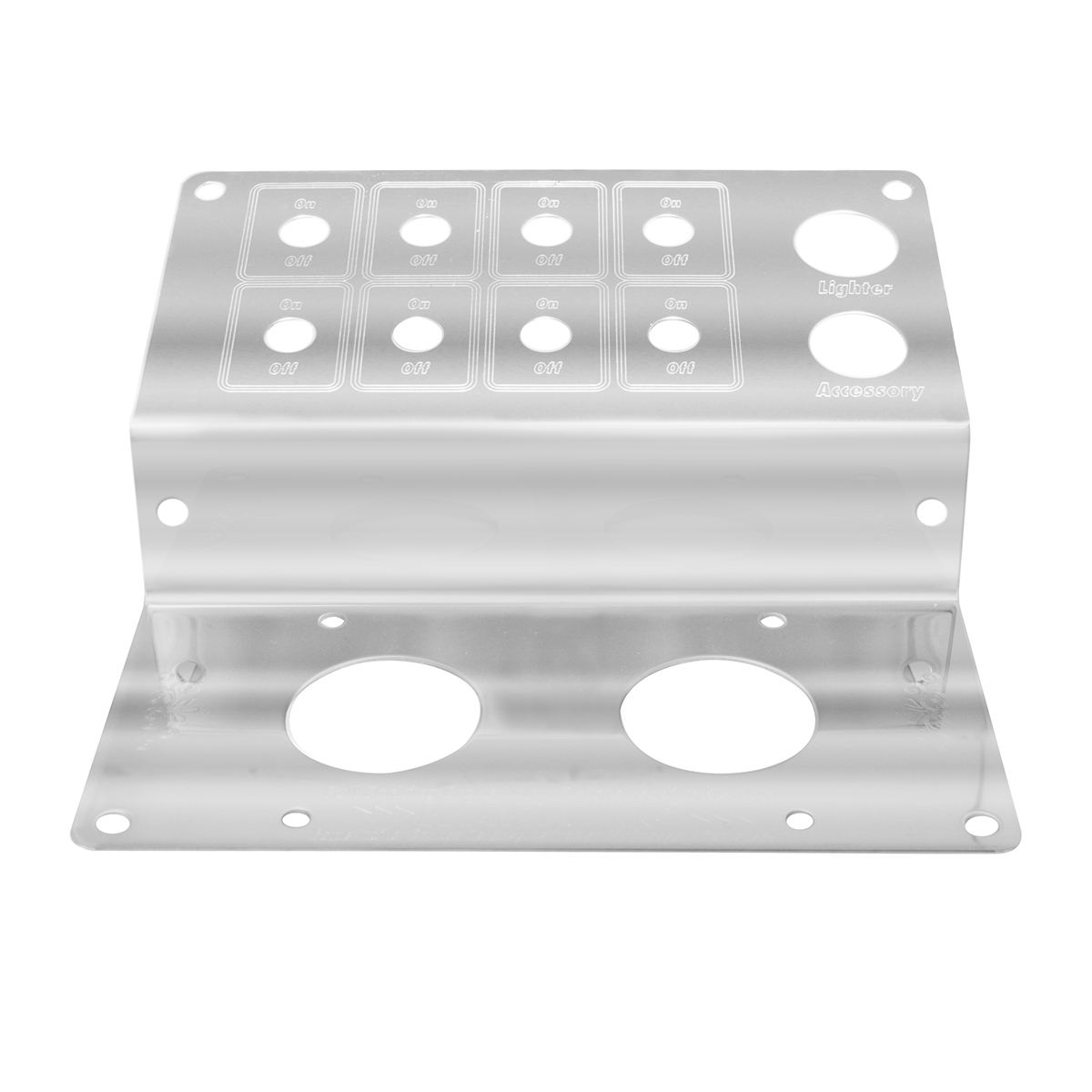 68329 Parking Brake Control Plate w/ 8 Switches for Peterbilt 379