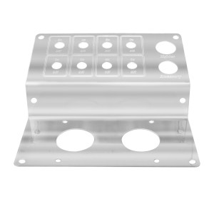 Parking Brake Control Plate w/ 8 Switches for Peterbilt 379