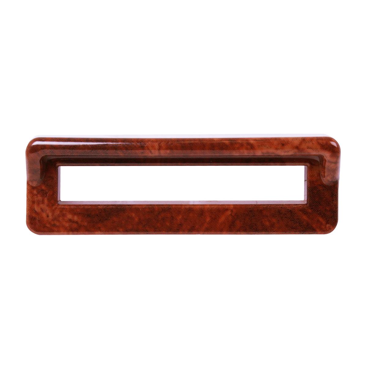 #68246 Wood Color Switch Label Bezel Cover w/Visor