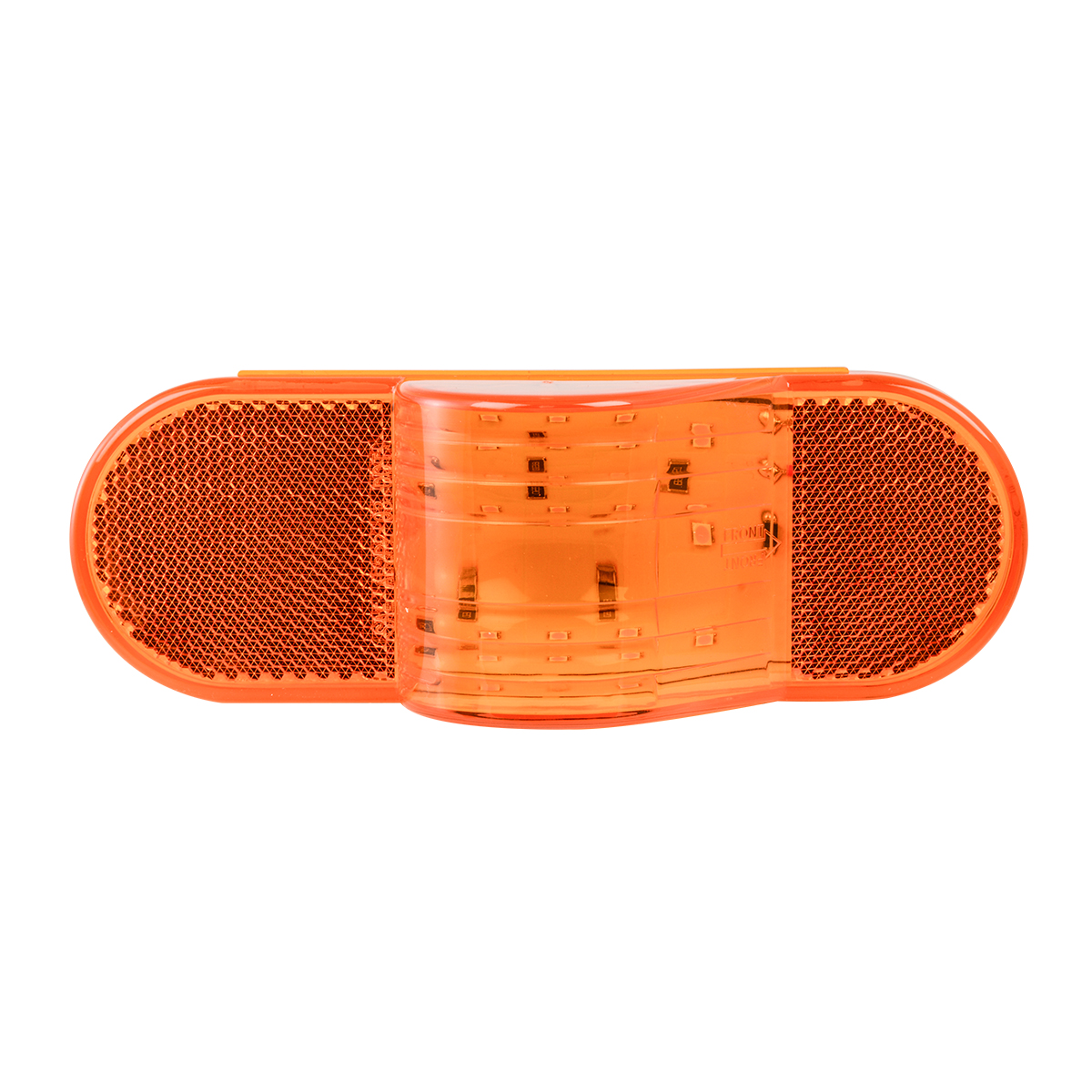 79995 Oval Side Marker & Turn 12 LED Light w/ Reflector