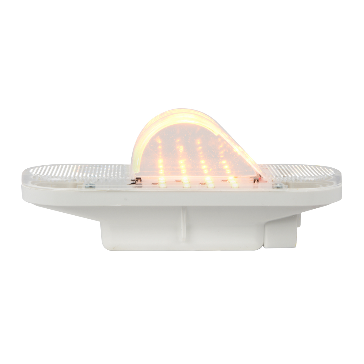 79996 Oval Side Marker & Turn 12 LED Light w/ Reflector