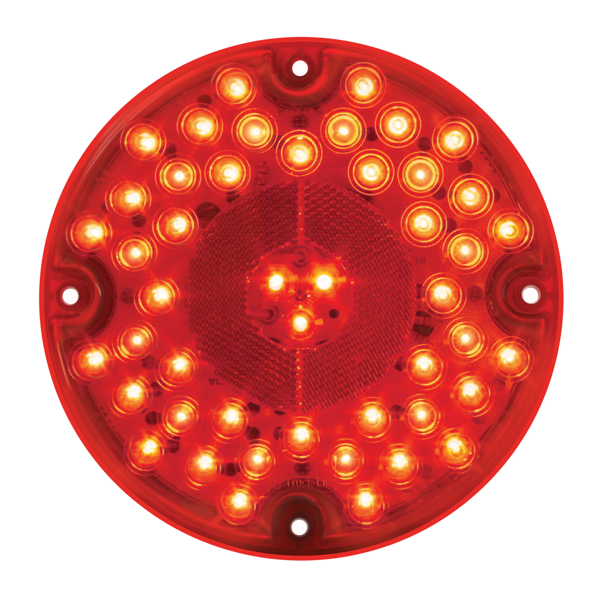 Grand General 82332 Red 7 47-LED Sealed Stop//Turn//Tail Light