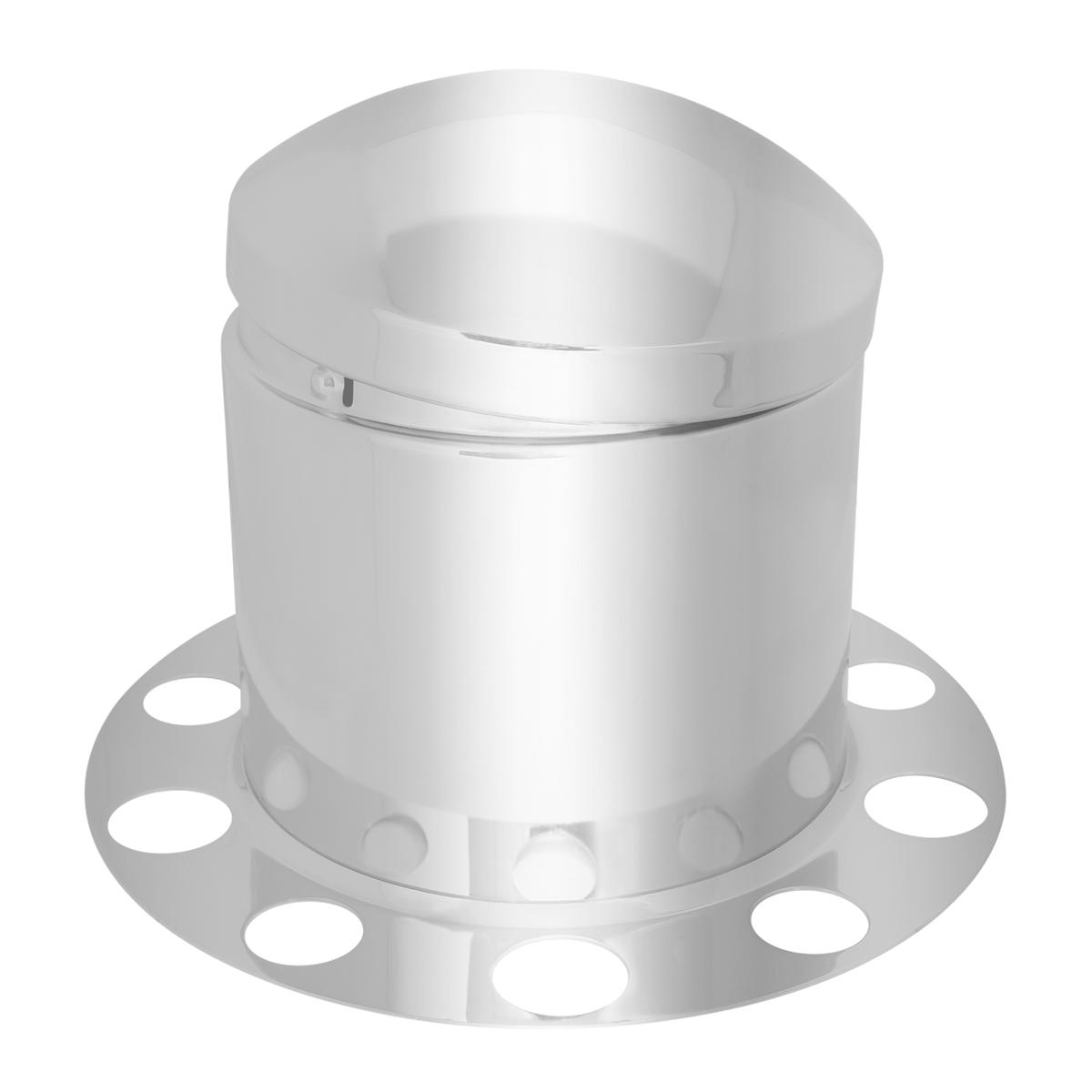 3 Piece Rear Axle Cover Set w/ Standard Hub Cap