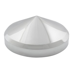 Rear Hub Caps in Cone Shape with 1.5″ (H) Side Wall