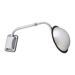 Hood Mount 8.5″ Wide Angle Convex Mirror Assembly