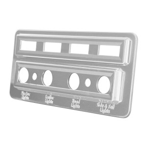 Indicator Light Plate for Kenworth W
