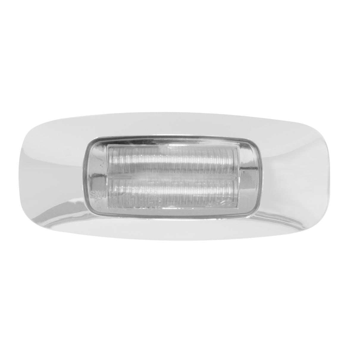 "74721, 74723 & 74724 3-1/2"" Dual Function Rectangular Prime LED Marker Light in Clear Lens"
