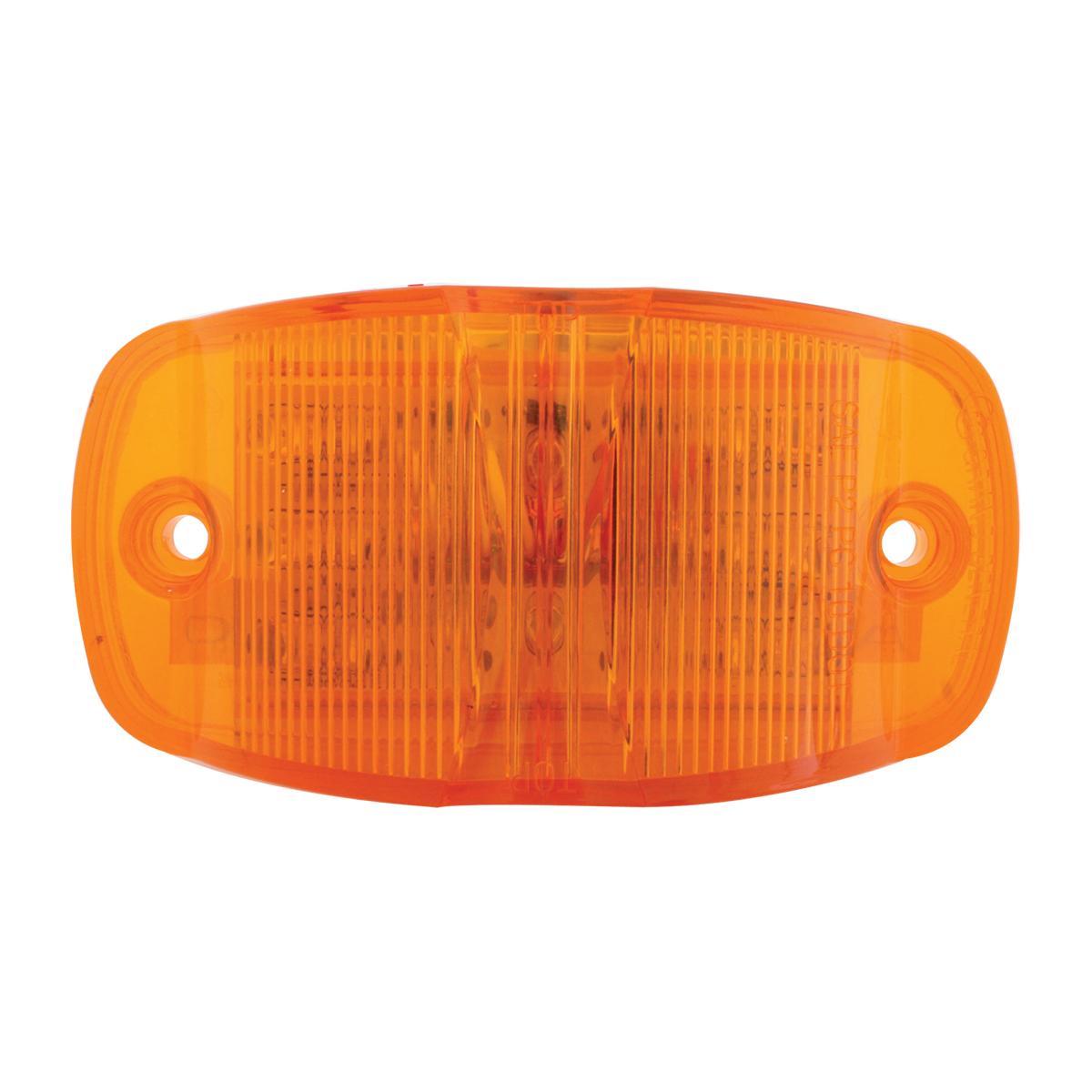 75160 Rectangular Camel Back Wide Angle Dual Function LED Light