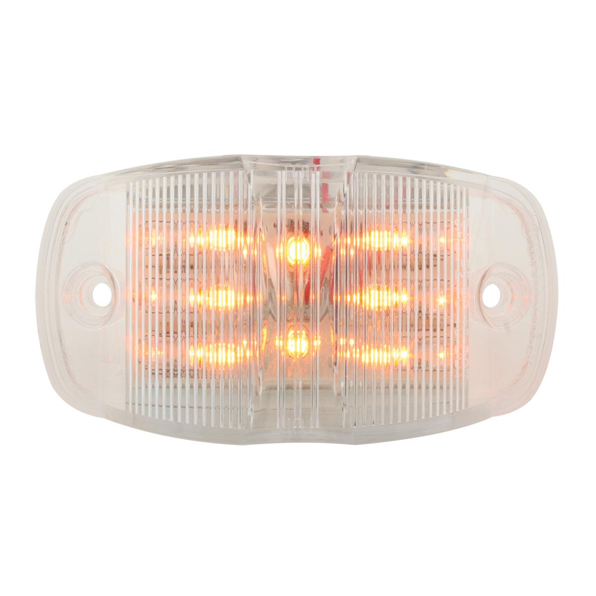 75161 Rectangular Camel Back Wide Angle Dual Function LED Light