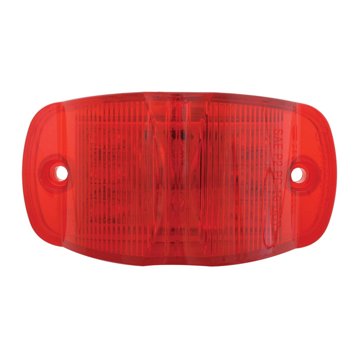 75162 Rectangular Camel Back Wide Angle Dual Function LED Light