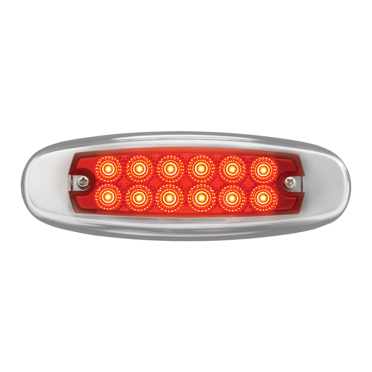 76442 Ultra Thin Dual Function Spyder LED Light w/ Stainless Steel Bezel
