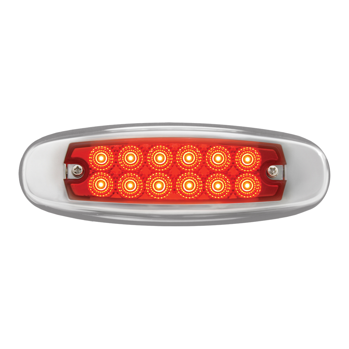 78567 Ultra Thin Spyder LED Marker Light w/ Stainless Steel Bezel